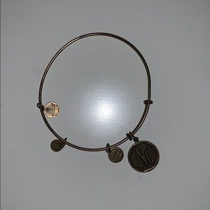 "Alex and Ani ""M"" bracelet."